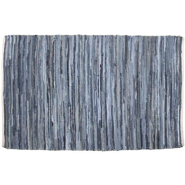 Denim Chindi Rag Rug: Shop Denim & Hemp Chindi/Rag Rug (4' X 6')