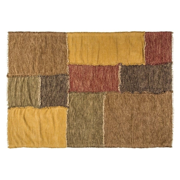 Red Rustic Flooring VHC Kendrick Rug Cotton Reverse Seams Rectangle - 8' x 11'