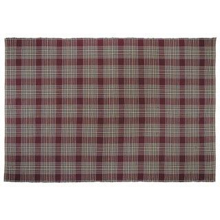 VHC Brands Jackson Plaid Wool/Cotton Rug (8' x 11')