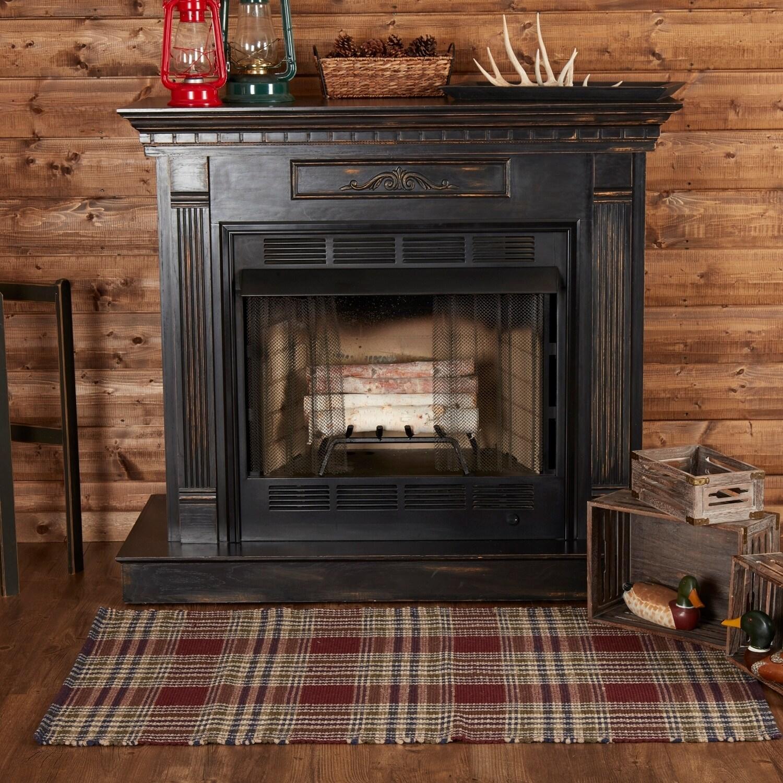 VHC Brands Jackson Wool & Cotton Rug (3' x 5') - 3' x 5',...