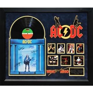 AC/DC - Who Made Who - Signed Album