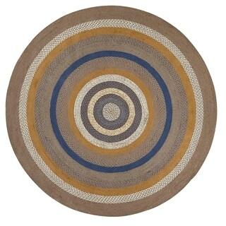 Riverstone Jute Rug - 8' diameter