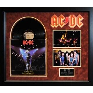 AC/DC - Let's Get It Up / Back In Black - Signed Album