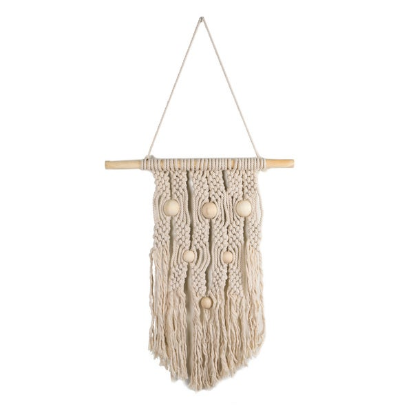 Shop Macrame Wall Hanging On Sale Ships To Canada Overstock