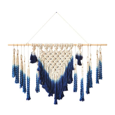 Marmont Hill - Handmade Extended Macrame Wall Hanging