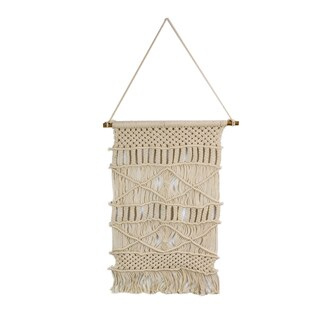 Geometric Macrame Wall Hanging