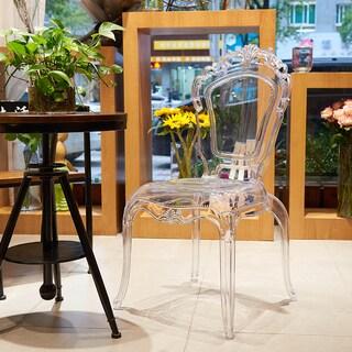 Gittel Clear Acrylic Dining Chair (Set of 2)