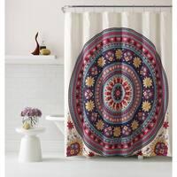 VCNY Home Ahimsa Shower Curtain