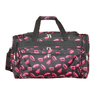 World Traveler Hot Lips 22-inch Lightweight Duffle Bag