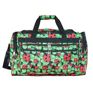 World Traveler Lady Bug 22-inch Lightweight Duffle Bag