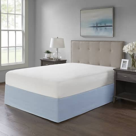 Madison Park Simple Fit Wrap Around Adjustable 26-inch Drop Bedskirt