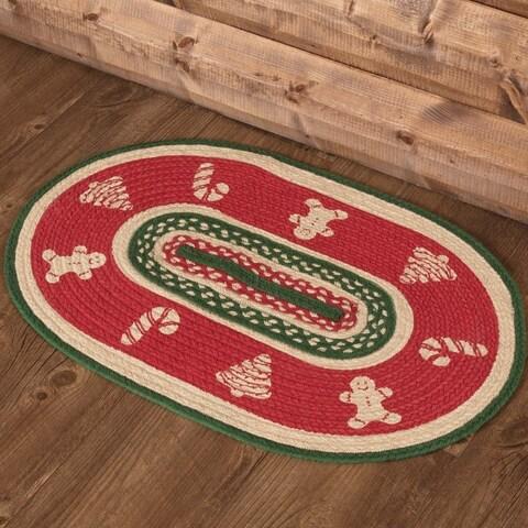 """Christmas Cookies Rug (1'8"""" x 2'6"""") - 1'8"""" x 2'6"""""""