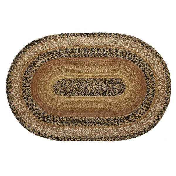 "Shop Kettle Grove Oval Jute Rug (1'8"" X 2'6"")"