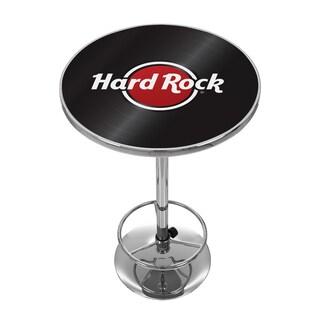 Hard Rock Cafe Chrome Pub Table Record