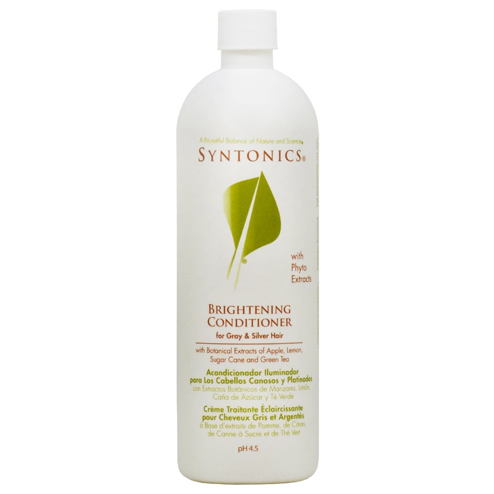 Global Syntonics 16-ounce Brightening Conditioner for Gra...