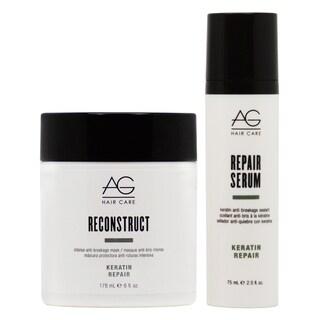 AG Hair Keratin Reconstruct Mask & Repair Serum Set
