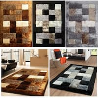 Made with Polyester Pile 2-Inch Thickness Shag Area Rug - 5' x 7'