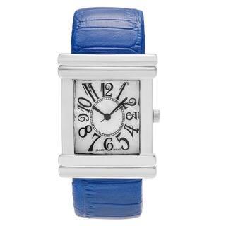 Geneva Women's Platinum Croc Skin Stamped Antique Watch|https://ak1.ostkcdn.com/images/products/1944779/P10264709.jpg?impolicy=medium