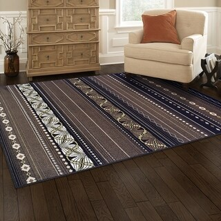 Kotter Home Modern Twilight Rug (5' X 8')