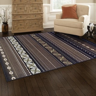 Kotter Home Modern Twilight Rug - 8' X 10'