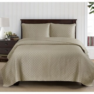 Brielle Basket Weave Quilt Set
