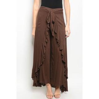 JED Women's Wide Leg Skirt Pants