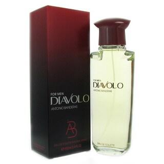 Diavolo Antonio Banderas 3.4-ounce Eau de Toilette Spray Men's
