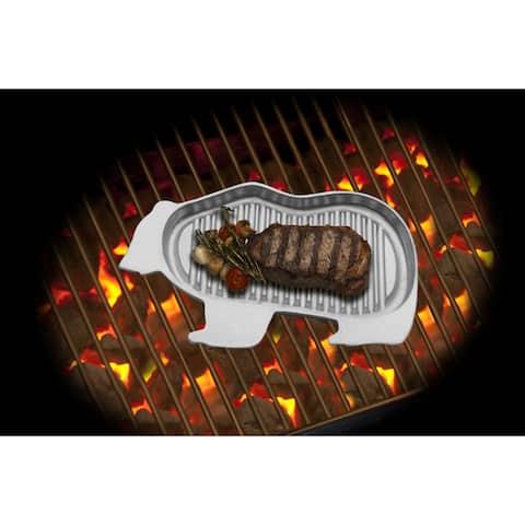 Wilton Armetale Gourmet Grillware Bear Griller