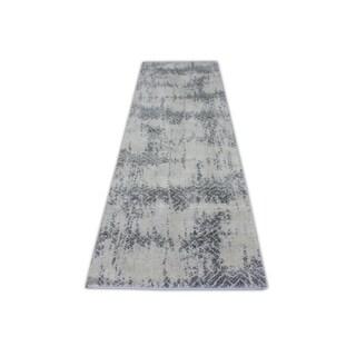 Contemporary Turkish Abstract Hallway Runner Rug (2'8 x 10')