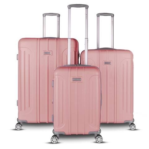 Gabbiano Viva 3 Piece Hardside Spinner Luggage Set