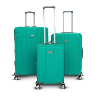 Gabbiano Viva 3 Piece Hardside Spinner Luggage Set