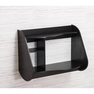 Wall Mounted Floating Laptop/TV Desk Stand Furniture With Storage