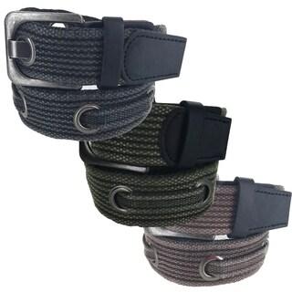 Faddism Casual Military Canvas Web Belt SX Series Model 15 (Option: Grey)