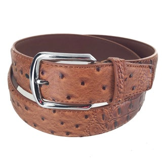 Faddism Men's Leather Business Casual Simple Buckle Belt Model A-26 (More options available)