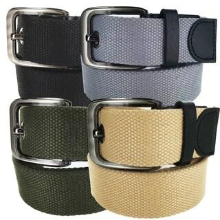 Faddism Casual Military Canvas Web Belt SX Series Model 20 (Option: Grey)