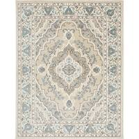 Home Dynamix Oxford Collection Medallion Area Rug