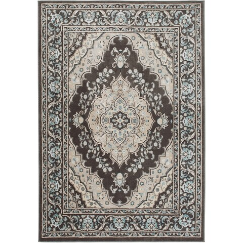 """Home Dynamix Oxford Collection Medallion Area Rug (20""""X31"""")"""