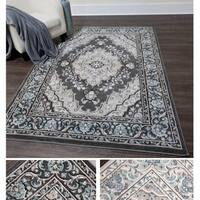 "Home Dynamix Oxford Collection Medallion Area Rug  (20""X31"")"