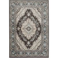 """Home Dynamix Oxford Collection Medallion Area Rug  (47"""" X 63"""")"""