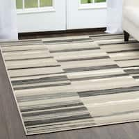 """Home Dynamix Oxford Collection Stripes Area Rug  (20""""X31"""")"""