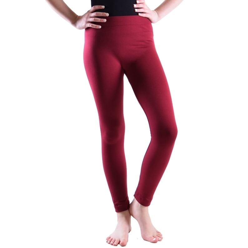 12M Red French Toast Baby Girls Solid Legging