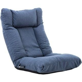 BONZY Floor Chair Foldable Sofa Adjustable Gaming Chair Enjoyable Floor Chair - Blue