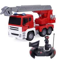 1/18Remote Control RC Resure Fire Engine Truck w/Extending Ladder Gift
