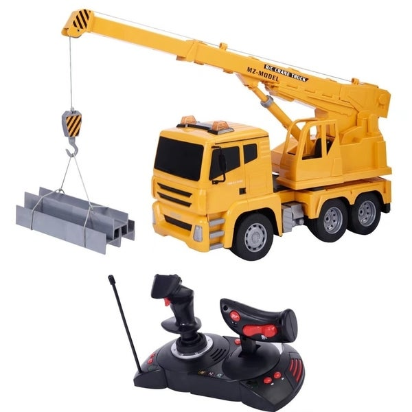 Shop 1 18 Remote Control Rc Crane Heavy Construction Lifting Truck