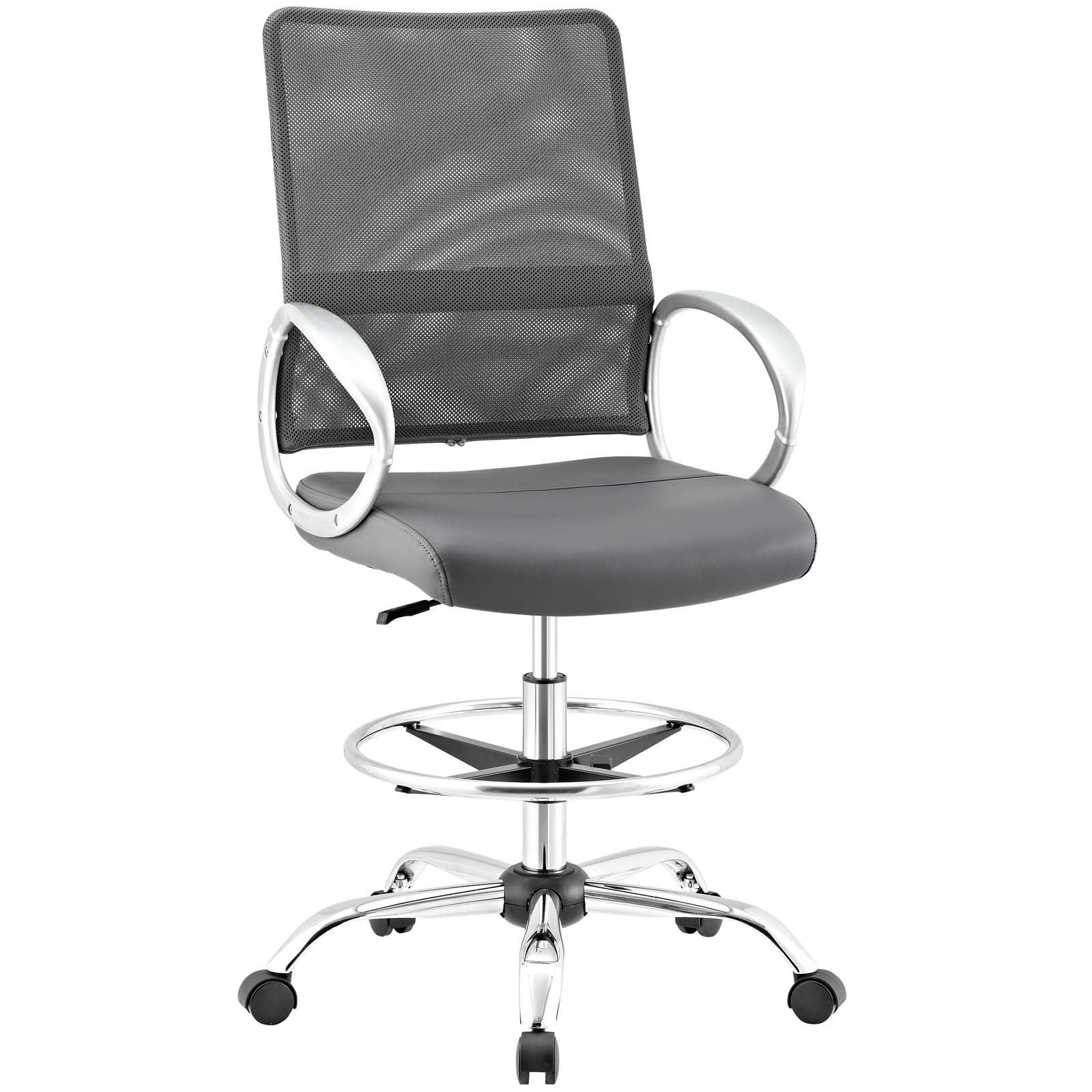 Command Mesh And Vinyl Drafting Chair (2 Options Available)