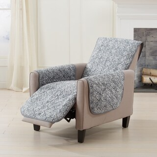 Katrina Collection Stain Resistant Printed Recliner Furniture Cover