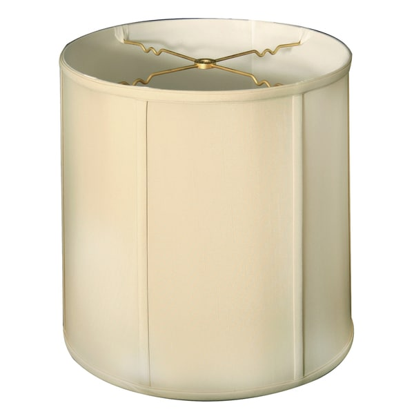 Royal Designs Basic Drum Lamp Shade - Beige - 15 x 16 x 16