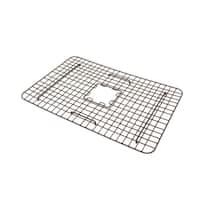 Sinkology Foster Copper Kitchen Sink Bottom Grid