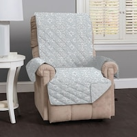 Shop Recliner Chair Cover Protector with Pockets for Remotes and ...