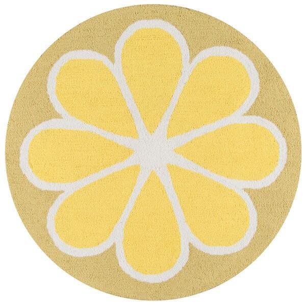 Novogratz By Momeni Lemon Polyester Kitchen Mat 3u0026#x27; ...